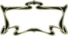 Art Nouveau fonts from fontcraft.com | Fontcraft: Scriptorium Fonts, Art and Design