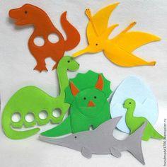 Купить Пальчиковый театр Динозавры - комбинированный, фетр, пальчиковый театр, пальчиковая игрушка, развивающие игры Clock For Kids, Dinosaur Stuffed Animal, Toys, Animals, Activity Toys, Animales, Animaux, Clearance Toys, Animal
