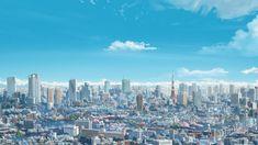 This HD wallpaper is about city buildings anime illustration, Makoto Shinkai, Kimi no Na Wa, Original wallpaper dimensions is file size is Kimi No Na Wa Wallpaper, Name Wallpaper, City Wallpaper, Anime Scenery Wallpaper, Heaven Wallpaper, Original Wallpaper, Galaxy Wallpaper, Anime Places, Anime City