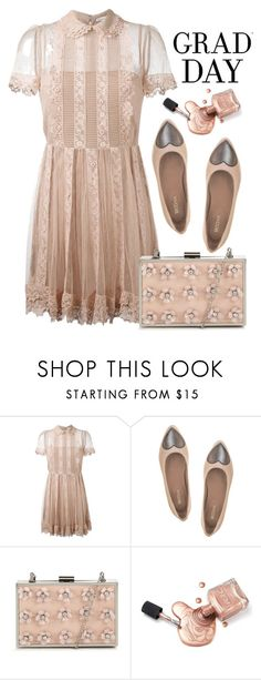 """Graduation Day Style"" by amchavesj-1 ❤ liked on Polyvore featuring RED Valentino, Taschka and Graduation"