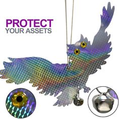 No need to worry as the Reflective Fake Owl Bird Repellent is all you need to keep those pigeons, woodpeckers, or any other birds away from your beautiful plants! Keep Birds Away, Mosquito Repellent Bracelet, Flowers For You, Owl Bird, Relaxing Day, Garden Supplies, Pigeon, Planting Flowers, Woodpeckers