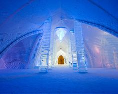 A Night At Hotel de Glace – Quebec's Ice Hotel