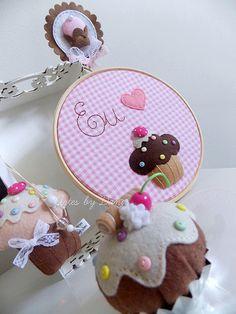 ♡ Idéia para as que amam Cupcakes! ♡