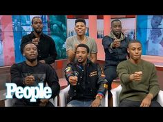 The New Edition Story: Cast On Working With The Iconic Band | People NOW | People - YouTube