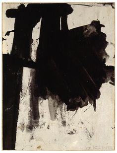 f0rtylegz:  ~Kline~    Study for Mr.     (1959)