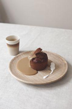vegan sticky toffee pudding // spring menu // by Wij Zijn Kees // www.ilovesla.com