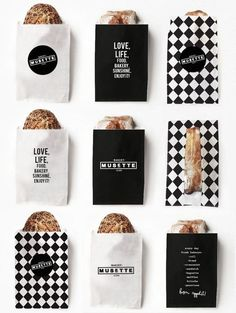 Image result for black and white food packaging