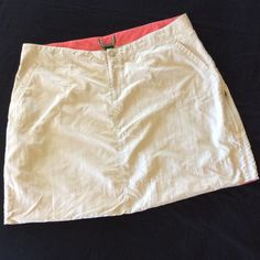 """L.L. Bean Beach Cover Up, Nylon, Size 20 L.L. Bean Swimsuit bottom cover. Used, but in very good condition. Optional cinching on bottom sides, between pockets and hem. Brand tag cut out. Quick drying nylon, nice neutral color of griege. Laying flat, waist measures 19.5"""". Length is 19"""". Perfect for the pool, beach or lake! Misses Size 20 Regular. L.L. Bean Swim Coverups"""