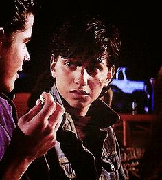 """Wax on, Wax off "" Ralph Macchio GIF series - Johnny ~ movies The Outsiders Johnny, The Outsiders 1983, The Outsiders Preferences, The Outsiders Imagines, Ralph Macchio The Outsiders, Johnny Movie, Greaser Girl, Old Movies, Benedict Cumberbatch"