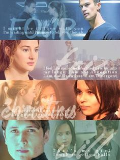 Divergent - Four, Tris, Christina, & Will