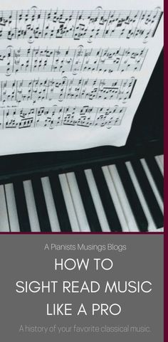 Have you ever been handed a difficult piece of music and been expected to play it immediately? If you have, you know that it's not the easiest thing to do. If not, well then you'd best prepare yourself for when it will (eventually) happen. Here are 5 ways you can incorporate sight reading into your daily practice routine to help you sight read like a pro