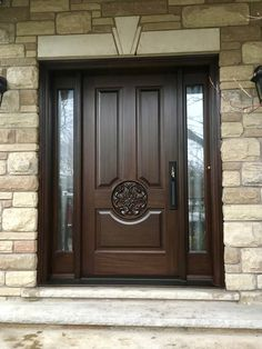 Here is a sampling of our hand made Side Light Entry Doors. House Gate Design, Door Gate Design, Door Design Interior, House Front Design, Wooden Front Door Design, Wooden Front Doors, Exterior Front Doors, Entry Doors, Garage Doors