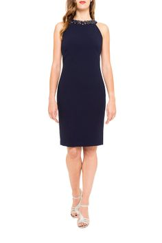 badgley mischka, blue dress, chic, glamour, couture, robe, dress, soirée, mariage, my couture corner, location robe, summer dress