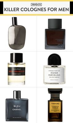 Smell Fresh With These Best New Colognes for Men is part of Best fragrance for men - Whether you like the dark and heavy scents of musk and tobacco, or the lighter notes of citrus and amber, there's a men's cologne here that'll be perfect for you Best Perfume For Men, Best Fragrance For Men, Best Fragrances, Mens Perfume, Parfum Musc, Parfum Chanel, Aftershave, Big Men Fashion, Style Fashion