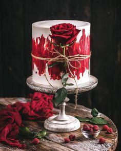 Beautiful Birthday Cakes, Beautiful Cakes, Amazing Cakes, Cake Decorating Videos, Cake Decorating Techniques, Sweet Cakes, Cute Cakes, Artist Cake, Cake Logo Design