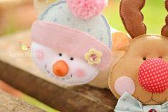 Cute Wreath.  Atelier - Boutique D' Caroline: Uma bela data: Natal!!!