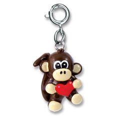 CHARM IT! Monkey Heart Charm