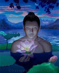 Buddha light.