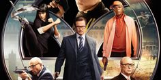 """""""Kingsman: The Secret Service"""" is a rousing new action film directed by Matthew Vaughn. It concerns the exploits of an order of British secret agents called . 2015 Movies, Hd Movies, Movies To Watch, Movies Online, Play Online, Colin Firth, Secret Service Movie, Kingsman The Secret Service, Film D'action"""