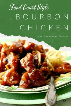 Easy bourbon chicken recipe is a yummy copycat of the food court favorite! Quick… Easy Bourbon Chicken Recipe is a tasty imitator of the food court favorite! Fast and delicious! Instructions for stove and slow cooker as well as tips and tricks. Easy Chicken Recipes, Crockpot Recipes, Cooking Recipes, Turkey Recipes, Ninja Recipes, Duck Recipes, Turkey Dishes, Crockpot Dishes, Fruit Recipes