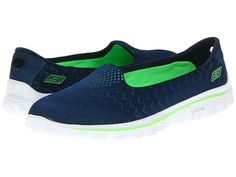 SKECHERS GO Walk 2 - Engineered Black - Zappos.com Free Shipping BOTH Ways