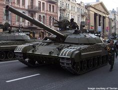 BM Bulat Main Battle Tank, Ukraine  The BM Bulat during a parade in Ukraine.