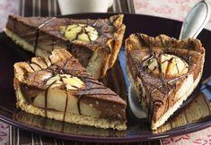 Tartă cu pere şi ciocolată | Click! Pofta Buna! Something Sweet, Diy Food, Sweet Recipes, Good Food, Muffins, Pie, Food And Drink, Cookies, Breakfast