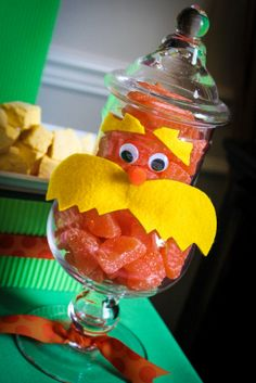 The Party Wall: The Lorax Party (Part 1): The Dessert Table, Food & Drinks