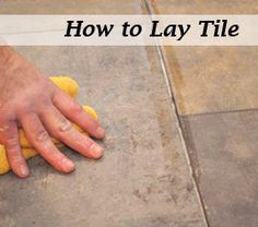 DIY:: How to Lay Tile ! Amazing Tutorial With Step by Step Clear Instructions and Photo Tutorial ! Created for beginners to pros- anyone can complete this High impact Low Cost Interior Update ! Home Improvement Projects, Home Projects, Home Renovation, Home Remodeling, Cheap Renovations, Kitchen Remodeling, Cheap Home Decor, Diy Home Decor, How To Lay Tile