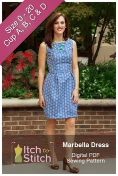 Marbella Dress PDF Sewing Pattern Product