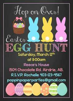61 Best Easter Invitations Images Easter Invitations Choose Me