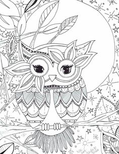 Owl coloring page                                                                                                                                                                                 More