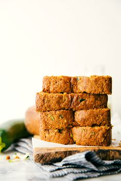 A healthier Greek yogurt zucchini bread – this bread has some healthy swaps with no sacrifice of taste! The dark chocolate is a delicious, but optional addition in this bread. Some photos have been updated that show the bread without chocolate chips and a video tutorial has been added (March 23, 2016) Zucchini bread has always been... Read More »