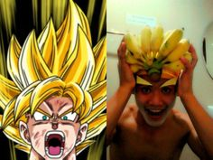 Dragon ball ou dragon banana ??? Worst Cosplay!
