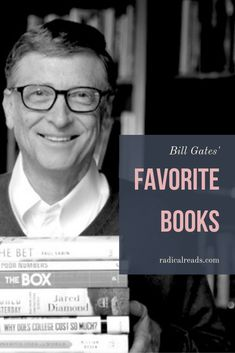 """A list of books recommended by Bill Gates in from """"a how-to guide about meditation to a deep dive on autonomous weapons."""" Looking for more celebrity reading lists & book recommenda Book Club Books, Books To Read, My Books, Book Clubs, Great Books, Book Series, Reading Lists, Book Lists, Celebrities Reading"""