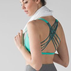 Show off all that hard work with these stylish sports bras with fun back designs. Go ahead and skip the shirt next time you work up a sweat.