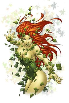 Poison ivy costume ideas