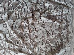 White Lace Fabric White Lace Cotton Lace Leaf Embroidery Fabric Eyelet Lace Cotton Fabric $16.50