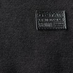 G-Star RAW | Men | Knitwear | Tiafect V-neck Knit , Black