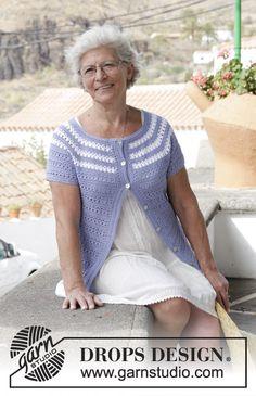 38 ideas crochet cardigan free pattern drops design for 2019 Cardigan Au Crochet, Gilet Crochet, Crochet Beanie Pattern, Crochet Jacket, Pull Crochet, Free Crochet, Crochet Top, Crochet Summer, Crochet Bikini