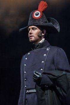 Les Misérables. David Thaxton as Javert. Photo by Johan Persson.