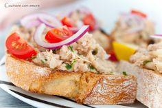 Cucinare con amore: Tuňákovo-fazolová bruschetta | Lohas magazín