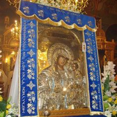 Icon of the Mother of God from Greece