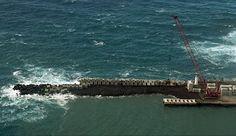PORTO DA CALHETA: Estragos nas Obras do Porto de Velas