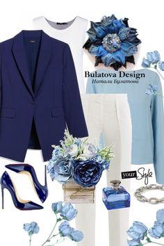 Брошь из кожи змеи синего цвета. от Nataly Bulatova - trendme.net Blazer, Polyvore, Jackets, Fashion, Down Jackets, Moda, Fashion Styles, Blazers, Fashion Illustrations