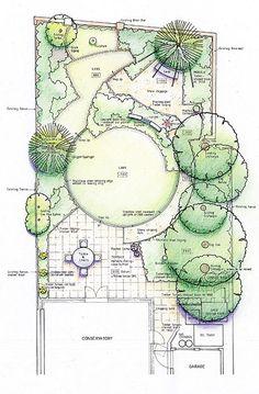 Modern Town Garden Design | Helen Shaw - Garden Designer