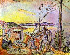 Henri Matisse, Lusso, calma e voluttà. Colore ad olio, 1904