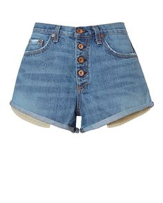 Rag & Bone Marilyn Exposed Fly Denim Shorts