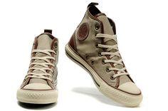 Miller Beige Converse Chuck Taylor All Star High Top Canvas Shoes  120766   -  55.00 d71f73a484