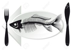 Seafood Plate Stock Vector Illustration And Royalty Free Seafood ...
